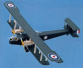 click to view Handley Page 0/400 models
