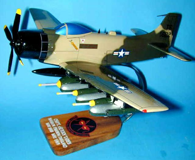 Custom made A1H skyraider