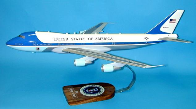 Custom model of Air Force 1
