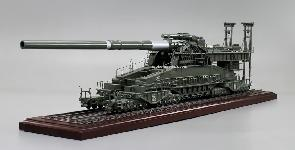 Dora Railway Gun - crafted in wood