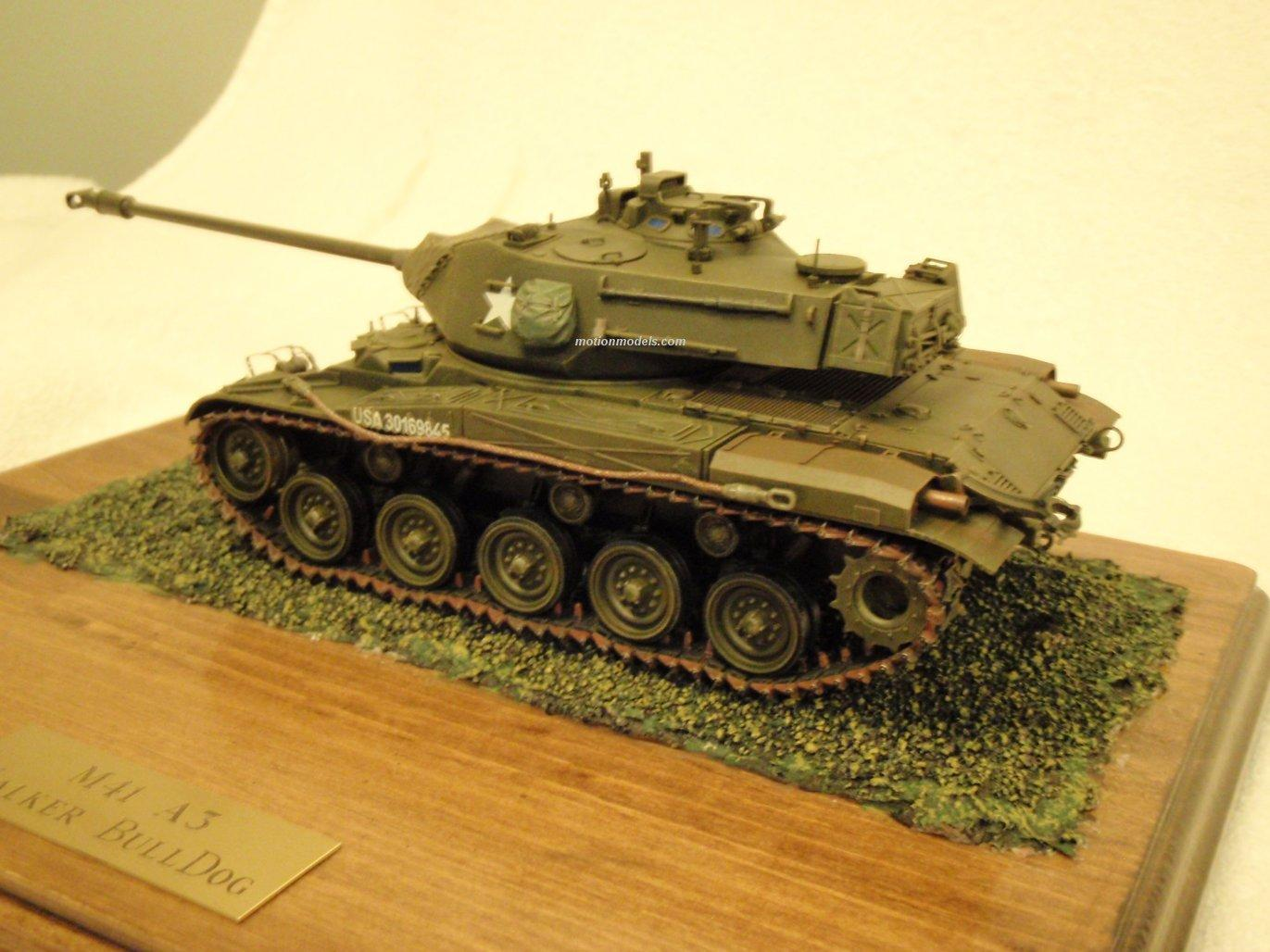 Motion Models - M41A3 Walker Bulldog Tank