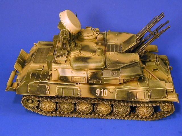 ZSU-23-4M self-propelled anti-aircraft gun