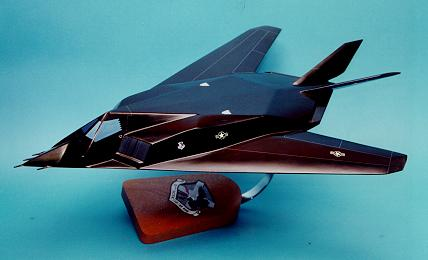Custom made F117 Nighthawk