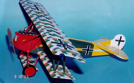 Custom made Fokker DVII