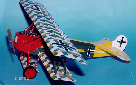 Custom made Fokker DVII