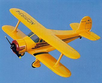 click to view Beech D17S Staggerwing models