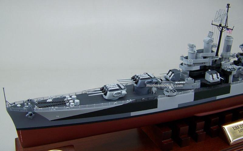 USS Denver CL 58 http://www.motionmodels.com/ships/cc/cl58.html