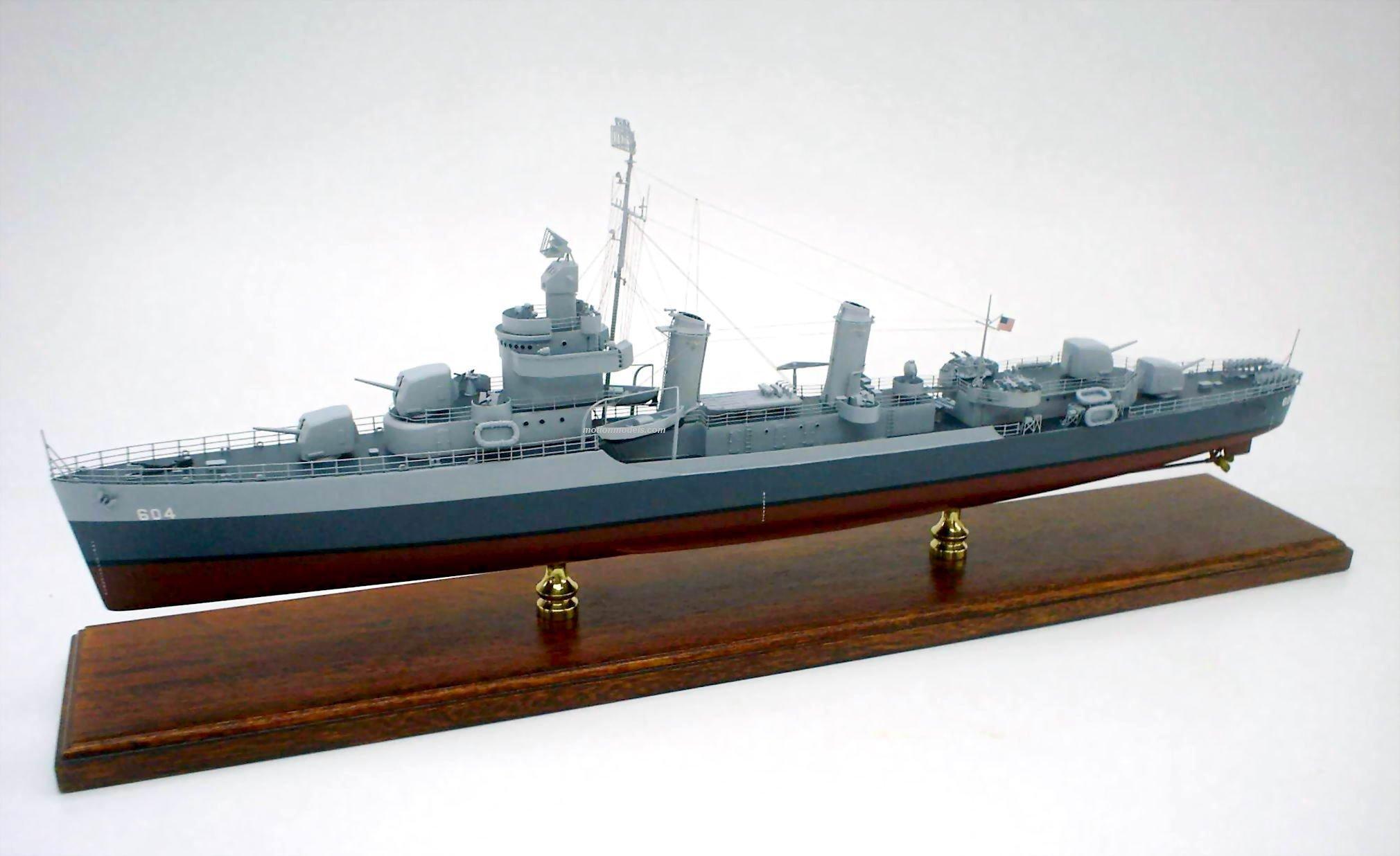 Destroyer Models By Motion Models Custom Made Uss Dd Farragat