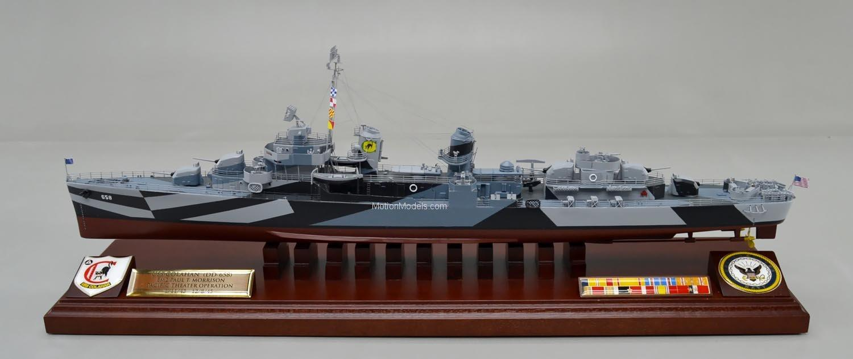 Fletcher Class Destroyer  Model airplanes ships aircraft