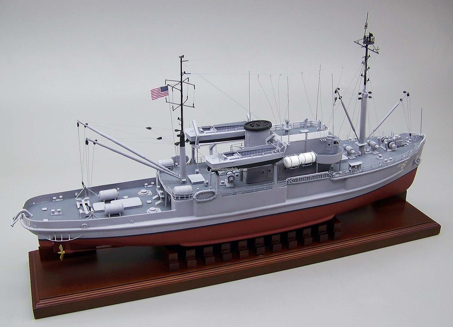 1/700 - loose canon - uss diver - rescue ship Ars8-8