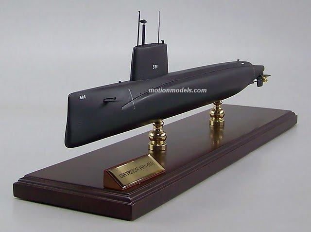 USS Triton, SSN-586  Triton class submarine  Model airplanes