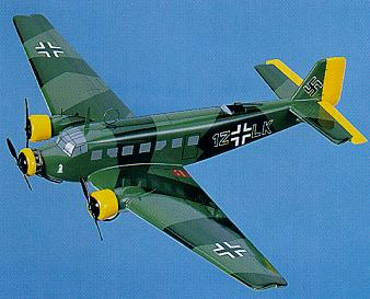 click to view Junkers Ju52/3M models