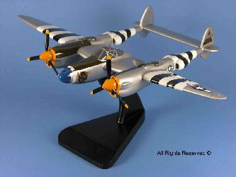 click to view P-38 Lightning models