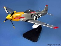 click to view P-51 Mustang models